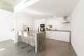 modern kitchen with gray tile floor and white wall - PhotoDune Item for Sale