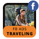 Traveling Facebook Ad Banners - AR - GraphicRiver Item for Sale
