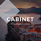 Cabinet Minimal PowerPoint Template - GraphicRiver Item for Sale