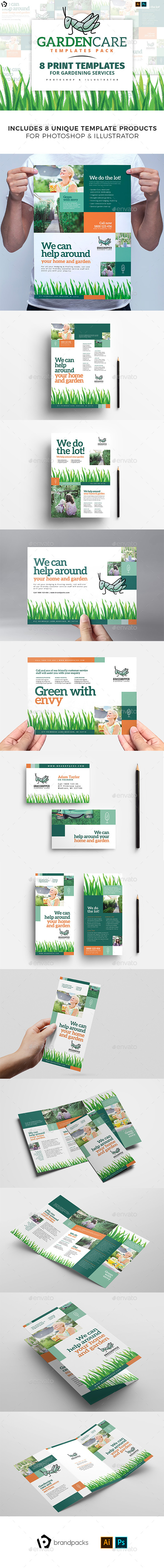Gardening Service Templates Bundle - Corporate Flyers