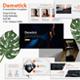 Dametick Premium Google Slide Template - GraphicRiver Item for Sale