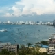Panoramic View of Pattaya City Beach at Pratumnak Viewpoint. . Thailand, Pattaya, Asia - VideoHive Item for Sale