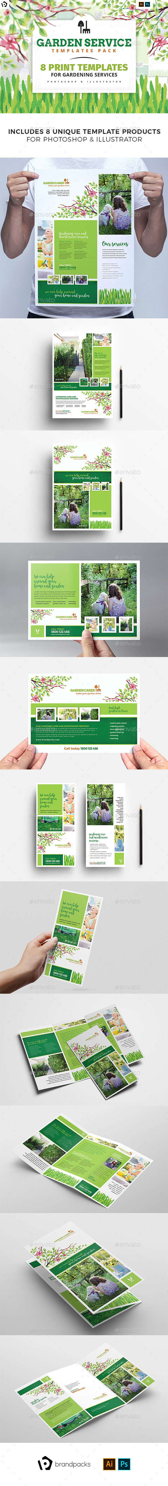 Gardener Templates Bundle - Commerce Flyers