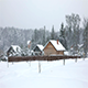 A Typical Russian Village in The Cold Winter - VideoHive Item for Sale