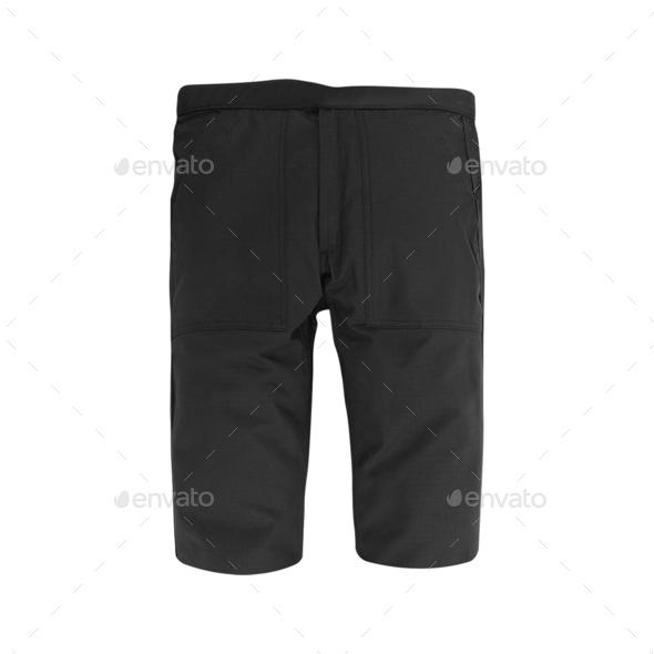 shorts. Isolated on white background - Stock Photo - Images