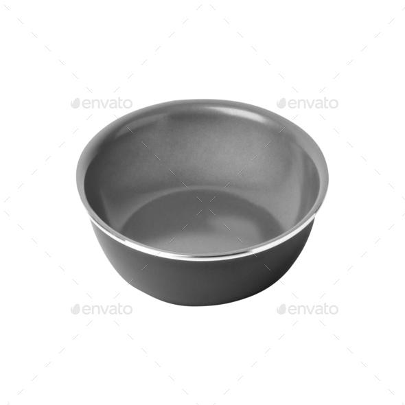 empty piala isolated on white - Stock Photo - Images