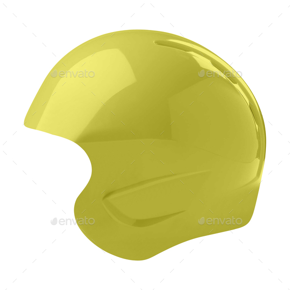 helmet isolated on white - Stock Photo - Images