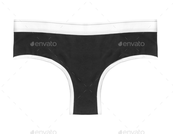 female lingerie underwear isolated on withe background - Stock Photo - Images