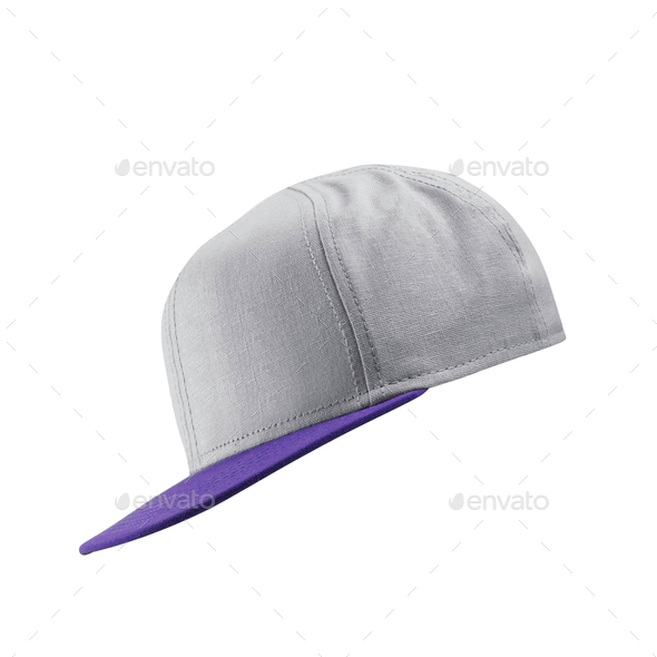 White baseball cap template - Stock Photo - Images