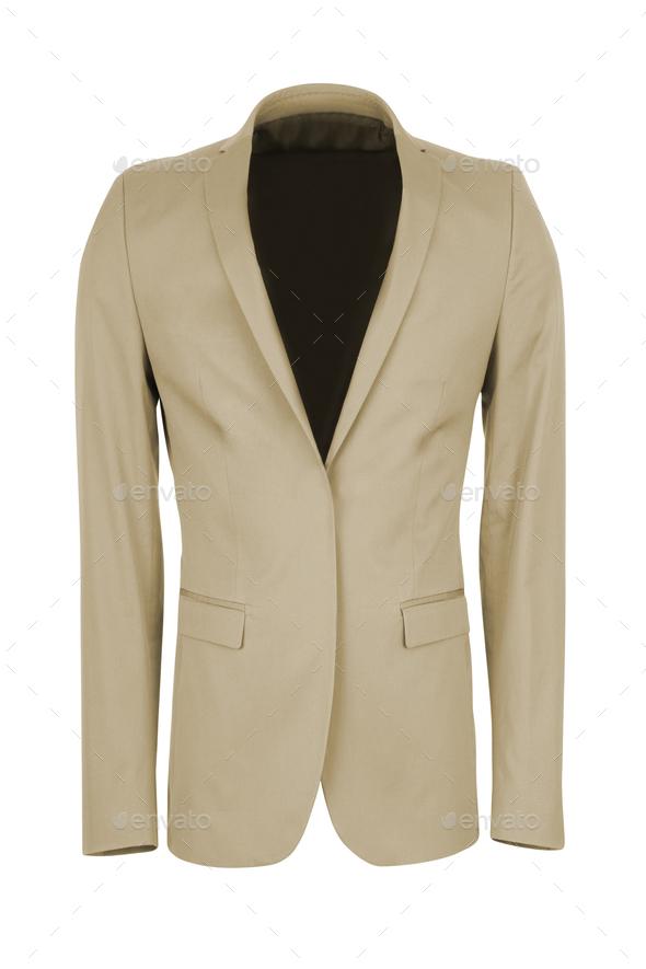 jacket isolated on white background - Stock Photo - Images
