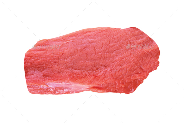 Piece of meat isolated - Stock Photo - Images