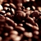 The Ready Fried Coffee Beans. A Large Amount of Grains on a Black Background - VideoHive Item for Sale