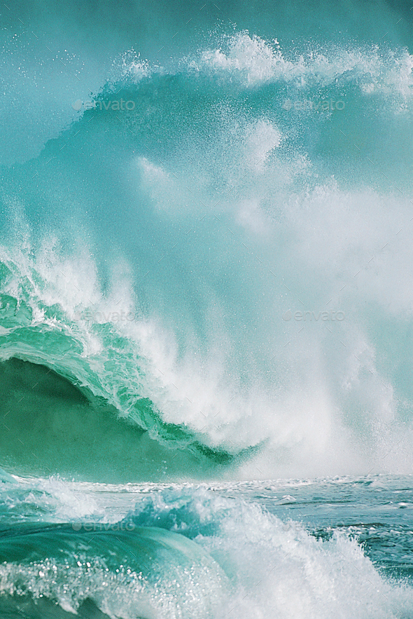 Beautiful Ocean Wave - Stock Photo - Images