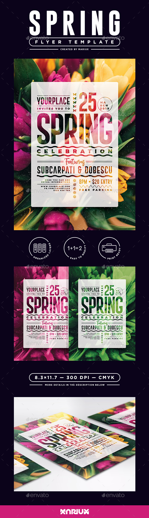Spring Flyer/Poster - Events Flyers