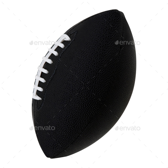 Rugby Ball isolated - Stock Photo - Images