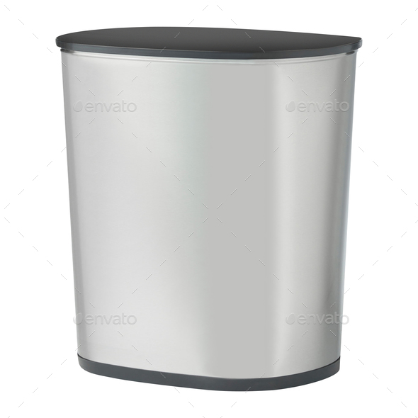 Empty trash, clean garbage bin - Stock Photo - Images