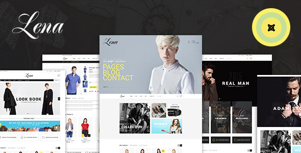 Image of Lena - Shop Joomla Virtuemart Template