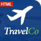TravelCo: Tourism and Tour booking HTML5 Template - ThemeForest Item for Sale