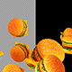 3D Hamburgers - VideoHive Item for Sale