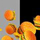 3D Hamburgers - VideoHive Item for Sale