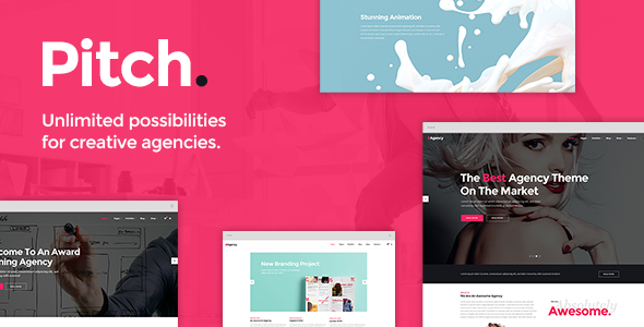 Pitch - A Theme for Freelancers and Agencies - Portfolio Creative