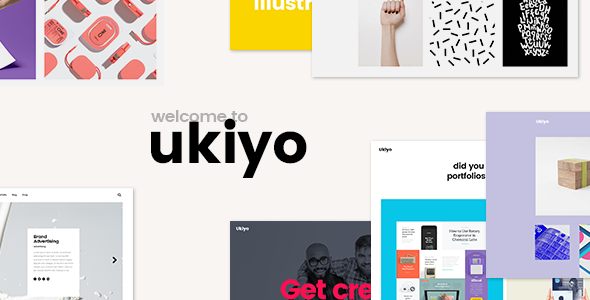 Ukiyo - A Fresh Portfolio Theme for Modern Agencies and Freelancers