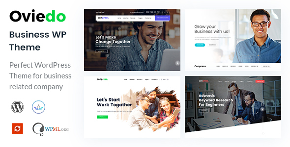 Oviedo- Multipurpose Business WordPress Theme - Business Corporate