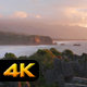 Pancake Rocks and Coastline at Sunset - VideoHive Item for Sale