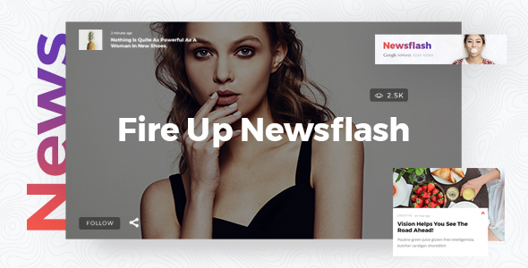 Newsflash - A Fresh Multi-Concept News and Magazine Theme