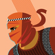 Roman warrior against the Persian warrior. Hoplite vs. Saracen - GraphicRiver Item for Sale