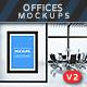 Interior Offices Mockups V.2
