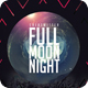 Full Moon Party Night Poster / Flyer - GraphicRiver Item for Sale