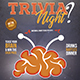 Trivia Night Flyer Template - GraphicRiver Item for Sale