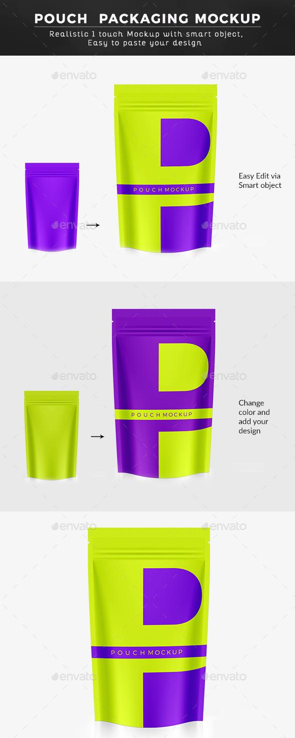 Gloss Packaging Mockup - Food and Drink Packaging