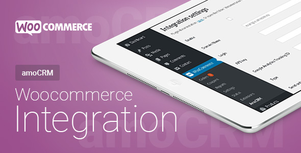 Woocommerce - amoCRM - Integration | Woocommerce - amoCRM - Интеграция - CodeCanyon Item for Sale