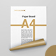 A4 Curled Paper Mockups - GraphicRiver Item for Sale