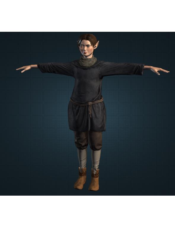 Elfa - 3DOcean Item for Sale