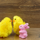 Easter decoration with chicks and rabbit - PhotoDune Item for Sale
