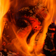 Closeup of flames and a red heat - PhotoDune Item for Sale