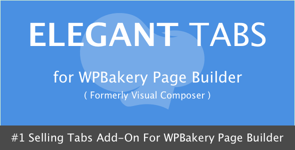 Elegant Tabs for Visual Composer - CodeCanyon Item for Sale