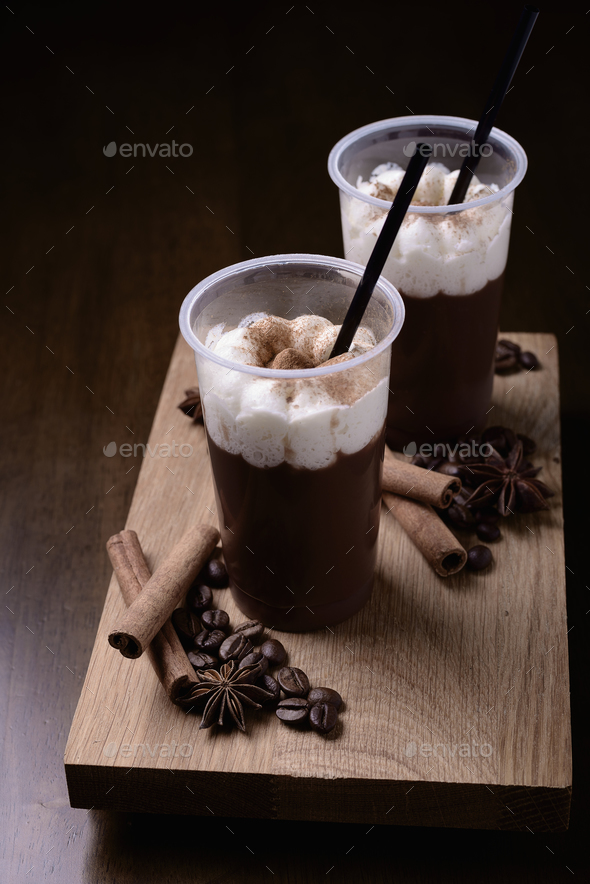 iced coffee - Stock Photo - Images