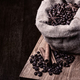 bag of black coffee beans - PhotoDune Item for Sale