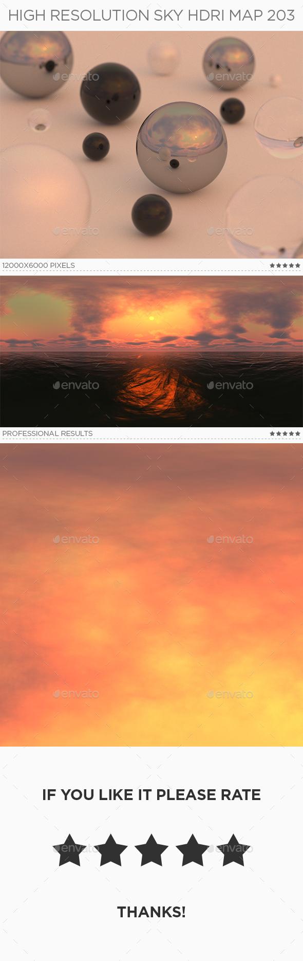 High Resolution Sky HDRi Map 203 - 3DOcean Item for Sale