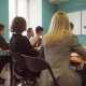 Students and a Teacher Woman During a Lesson in a University Class - VideoHive Item for Sale