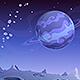 Cartoon Alien Landscape - VideoHive Item for Sale
