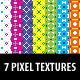 7 Pixel Textures - GraphicRiver Item for Sale
