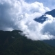 Kinabalu Mountain Peak with Clouds - VideoHive Item for Sale
