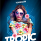 Tropic Vibes - GraphicRiver Item for Sale
