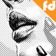 Halftone Photo Effect - GraphicRiver Item for Sale