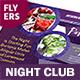 Night Club Flyers – 4 Options